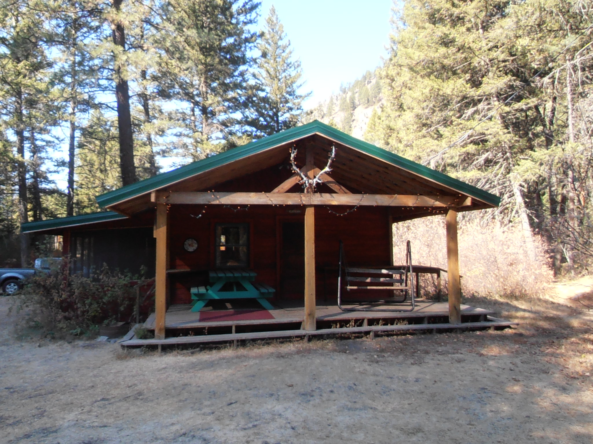 montana vrbo lakefront cabins placid lake for rent cabin